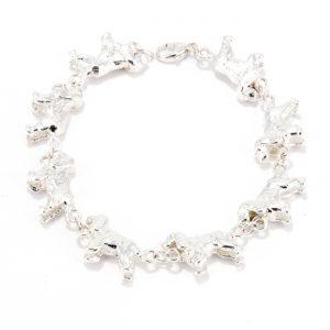 spaniel bracelet ss
