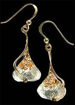 Arum Lily earrings GS