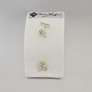Cyclist cufflinks GS