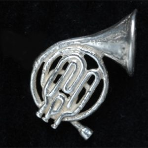 French Horn Cufflinks SS