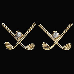 Golf Cufflinks GS
