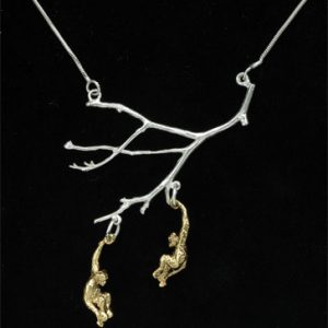 Monkey necklace GS