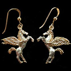 Pegasus Earrings GS