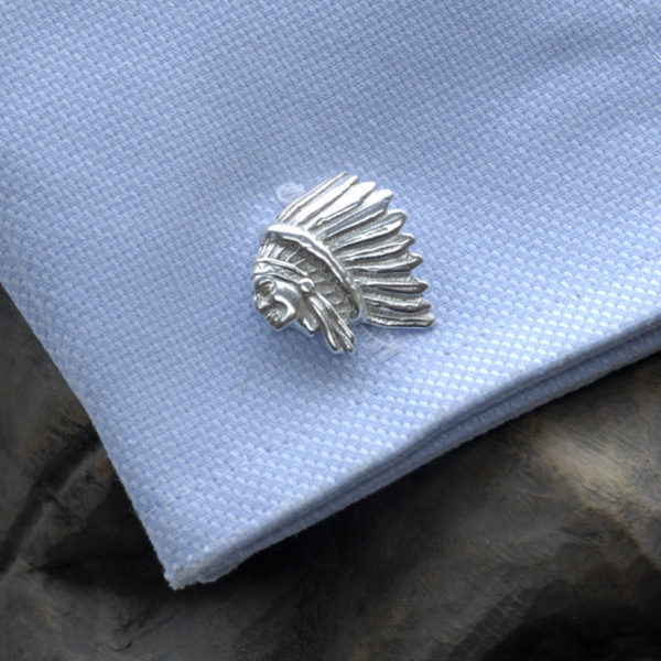 Red chief American Indiancufflinks ss 2