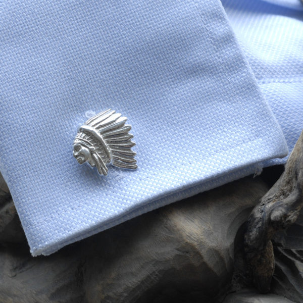 Red chief American Indiancufflinks ss 3