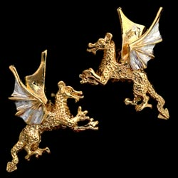 Striking Dragon cufflinks GS