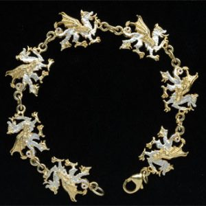 Welsh Dragon Bracelet GS
