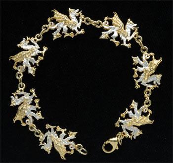 Welsh Dragon Bracelet GS