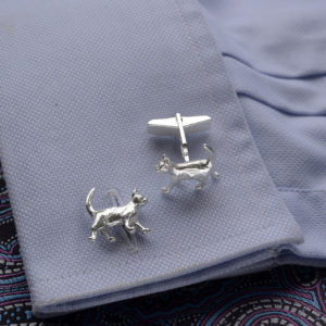 Cat Cufflinks SS