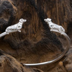 Dachshund Bangle SS