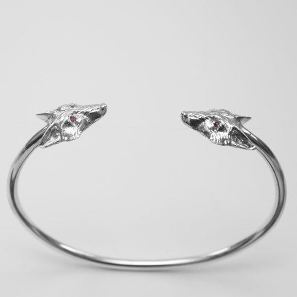fox bangle with rubies SS 2