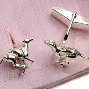 Greyhound Cufflinks SS