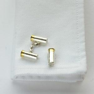 Gun Cartridges Cufflinks GS