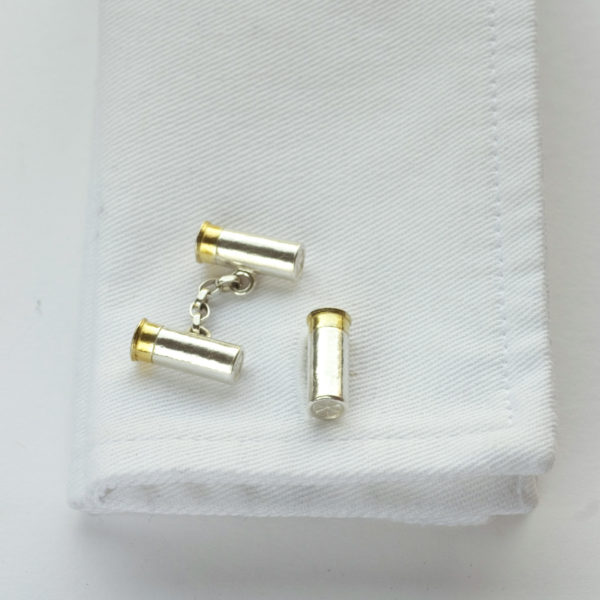 Gun Cartridges Cufflinks GS
