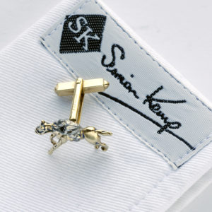 Horse and Jockey Cufflinks G