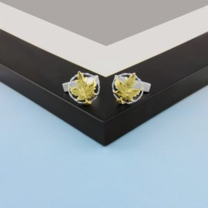 Maple Leaf Cufflinks GS