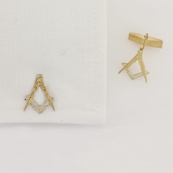 Masonic Cufflinks GS 1