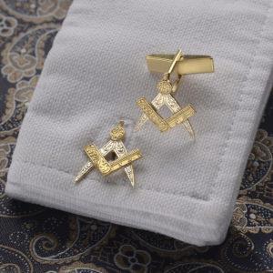 Masonic Cufflinks GS