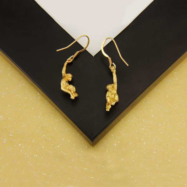 monkey earrings GP