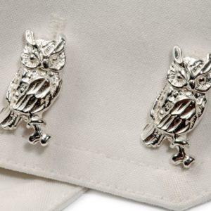 Owl Cufflinks SS