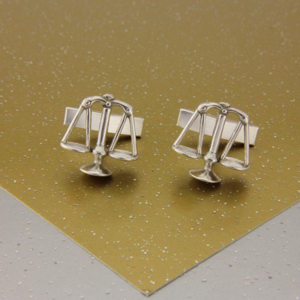 Scales of Justice Cufflinks SS