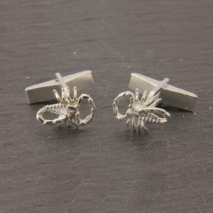 Scorpion Cufflinks SS