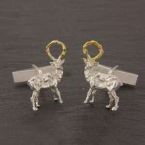 Sculpted Stag Cufflinks GS