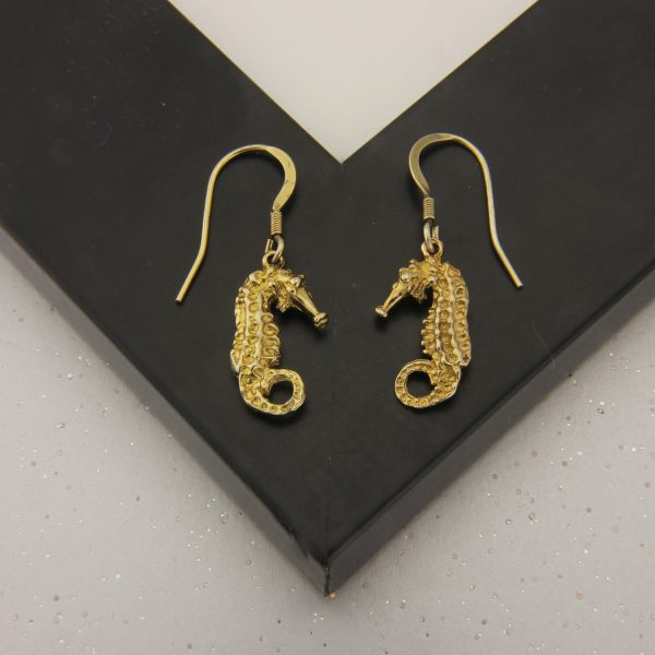 seahorse earrings GP