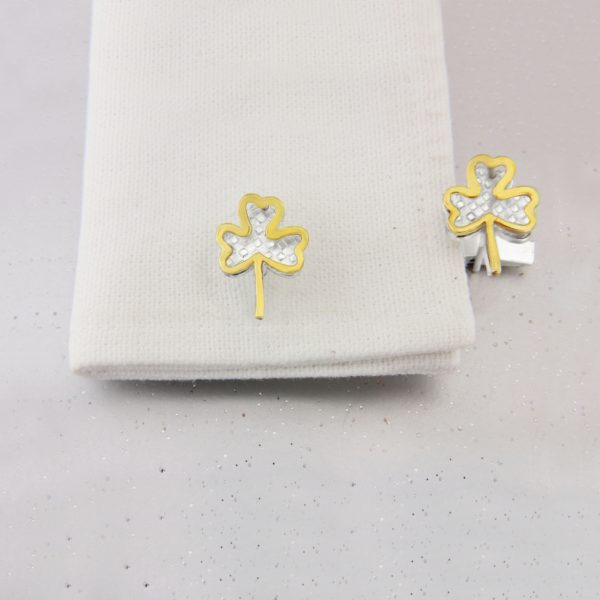 Shamrock Cufflinks GS