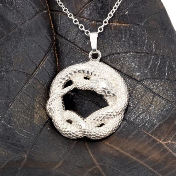 Snake Pendant SS