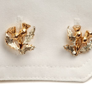 Thistle Cufflinks GS