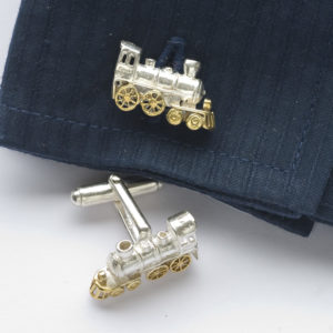 Train Cufflinks GS