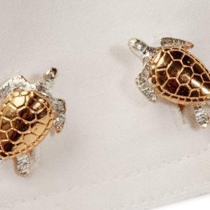 Turtle Cufflinks GS