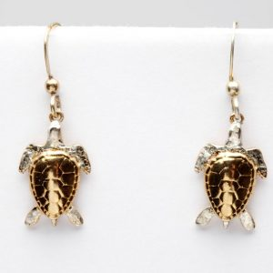 turtle earrings GS