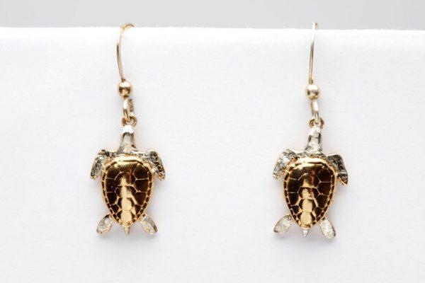 turtle earrings GS