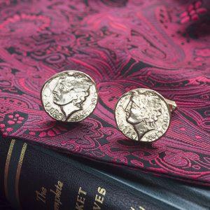 roman coin cufflinks g