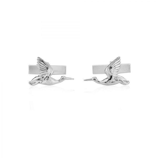 Flying Heron cufflinks SS