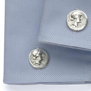Julius Caesar coin cuflfinks ss