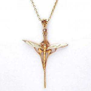Large dragonfly pendant GS