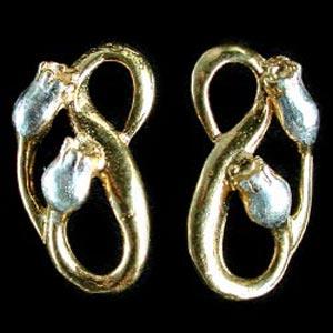 Rosehip Stud Earrings GS