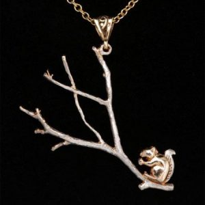 Squirrel Pendant GS