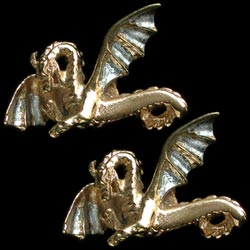 Widewing DRagon cufflinks GS
