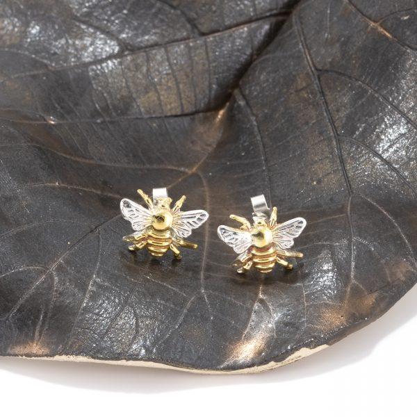 bee earrings gs 1