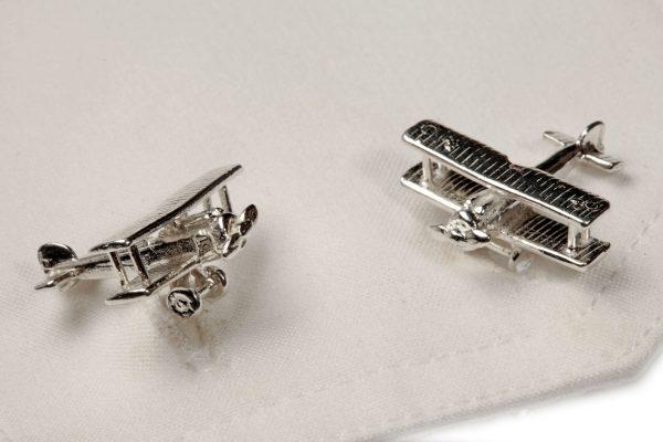 biplane cufflinks ss 2