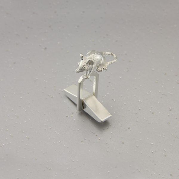 cat and mouse cufflinks GS 3