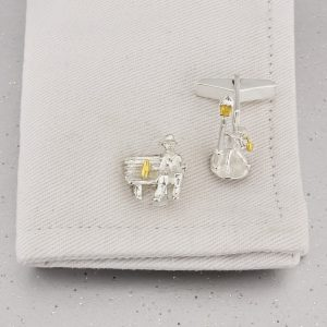 Drinking in the Park Cufflinks GS