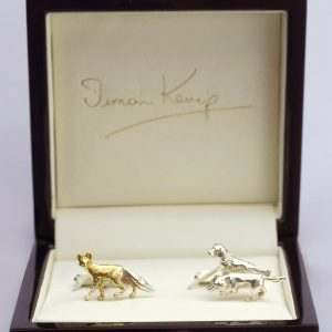 fox and hound cufflinks G