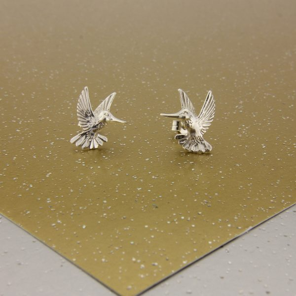 hummingbird pendant and earrings set ss 2