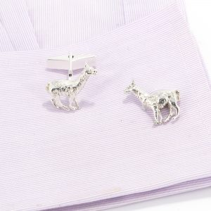 Llama cufflinks ss
