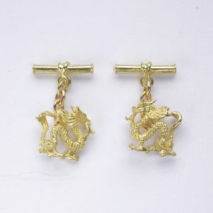 oriental dragon 18ct g 2